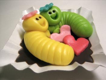valentýnské misky
