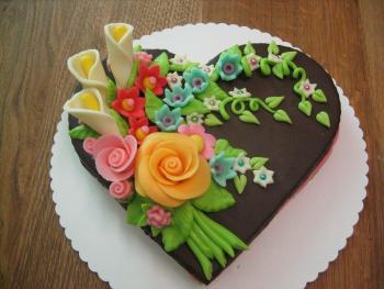 Colored bouquet 2