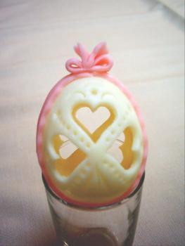 Vajíčko malé růžové