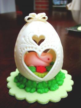 Vajíčko velké zajíček