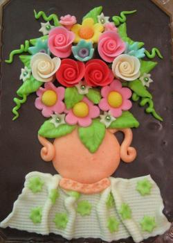 Váza s kyticí